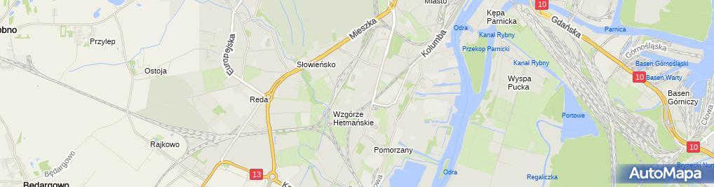 Zdjęcie satelitarne Robert Łojek - Działalność Gospodarcza