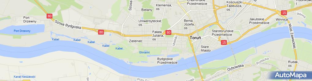 Zdjęcie satelitarne Rosochowicz Łukasz Euro System