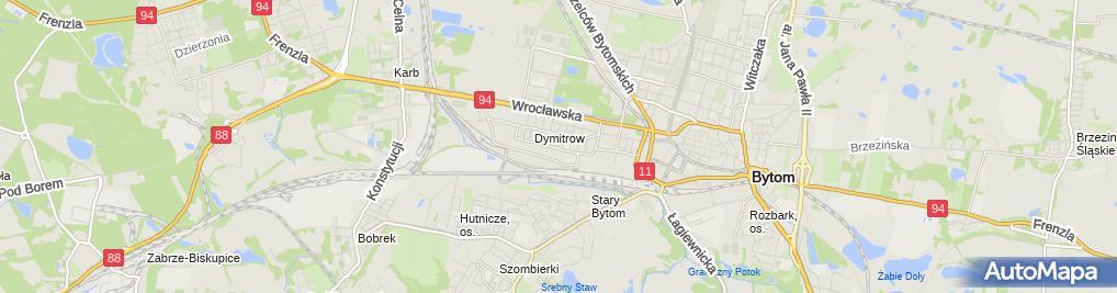 Zdjęcie satelitarne Ryszard Rzeżnik - Działalność Gospodarcza