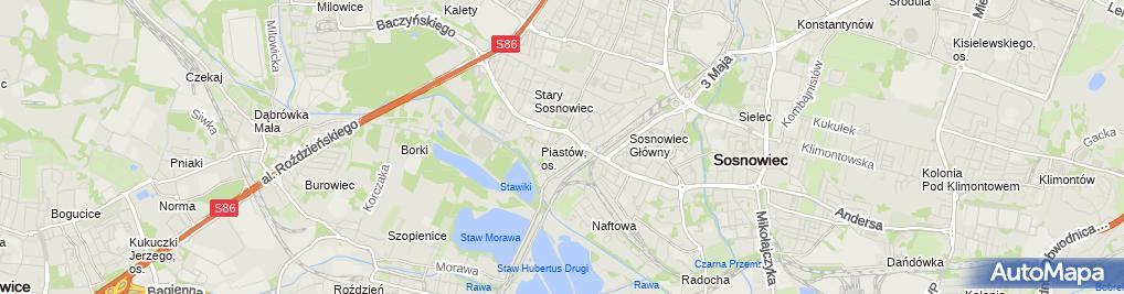 Zdjęcie satelitarne Sebastian Ziółkowski MS Group