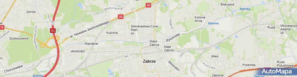 Zdjęcie satelitarne Śrutwa Arkadiusz Usługi Budowlane