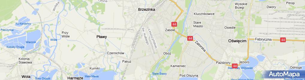 Zdjęcie satelitarne Stan-Bruk
