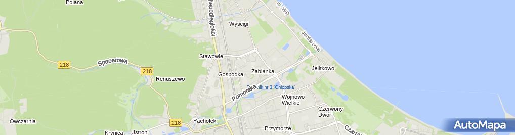 Zdjęcie satelitarne Stanisław Sionkowski Iwona Firma Budowlana