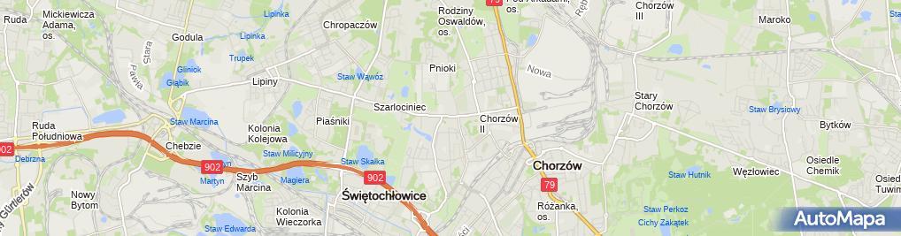Zdjęcie satelitarne Stanisław Wróbel - Działalność Gospodarcza