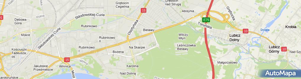 Zdjęcie satelitarne Świder Mariusz Martex Przedsiębiorstwo Wielobranżowe