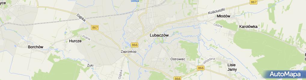 Zdjęcie satelitarne Tadeusz Bednarczyk Usługi Budowlane Bud-Mont