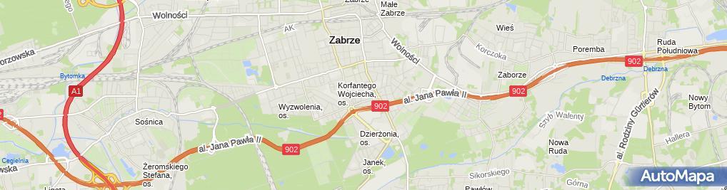 Zdjęcie satelitarne Tadeusz Celejewski Zakład Usługowo Handlowy Awobud