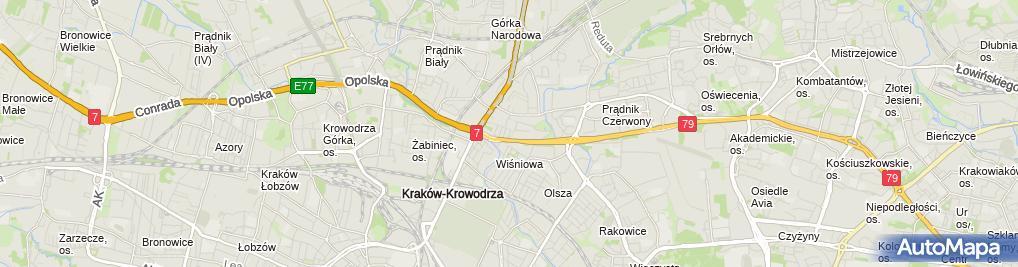 Zdjęcie satelitarne Tekton Beata Łukasik Grzegorz Zakrzewski
