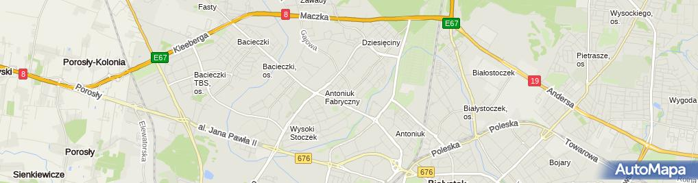 Zdjęcie satelitarne Tim-Bruk Łukasz Zalewski Wspólnik Spółki Cywilnej