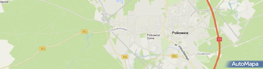 Zdjęcie satelitarne Usługi Budowlane Łukasz Kondratowicz