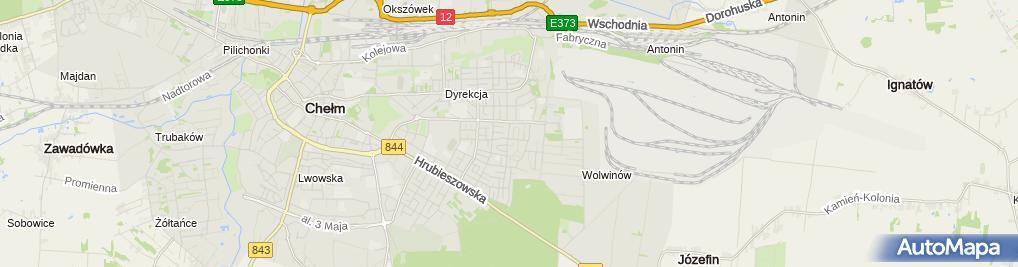 Zdjęcie satelitarne Usługi Budowlane Spec - Bud - Adam Krzyżanowski