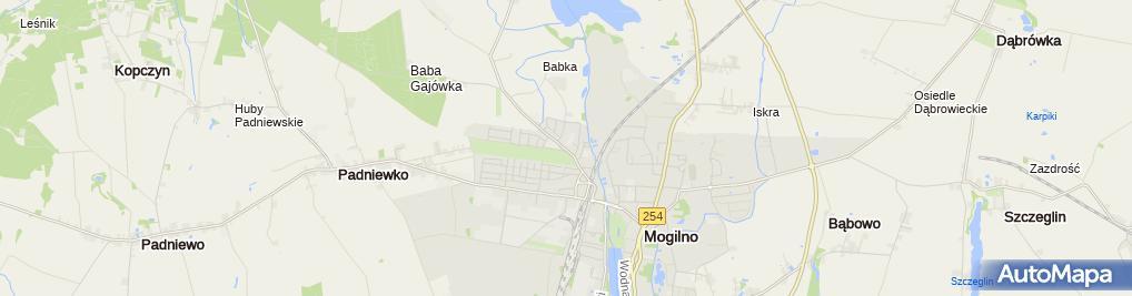 Zdjęcie satelitarne Usługi Drogowo-Brukarskie Losik Tadeusz