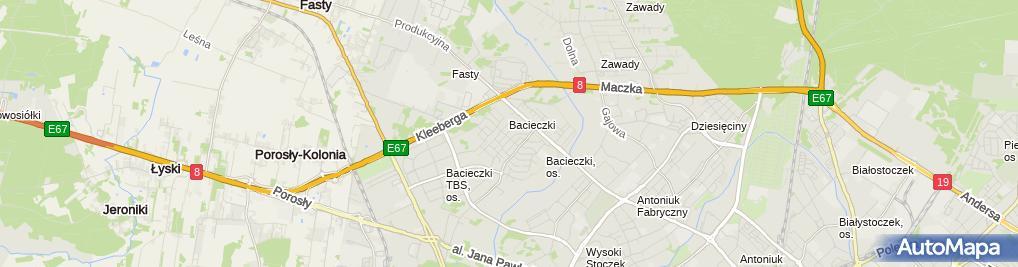 Zdjęcie satelitarne Usługi Remontowo-Budowlane Antoni Wojtach
