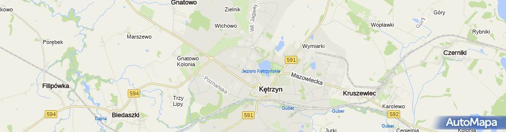 Zdjęcie satelitarne Usługi Remontowo Budowlane i Handel
