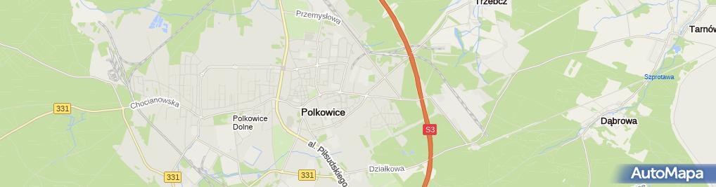 Zdjęcie satelitarne Usługi Remontowo-Budowlane MT-Bud Magdalena Tracz