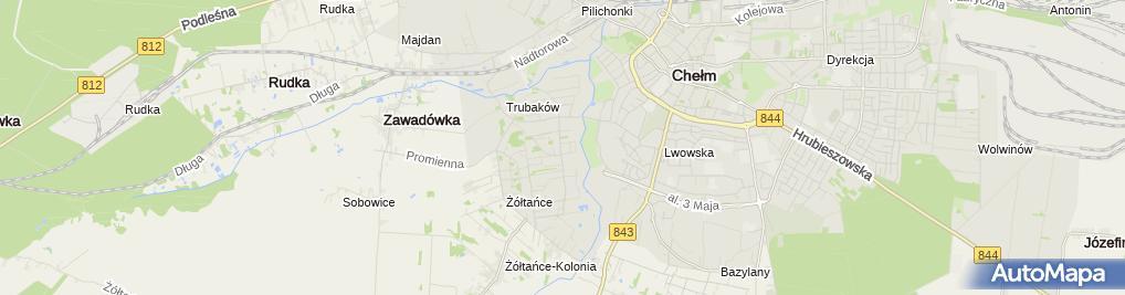 Zdjęcie satelitarne Usługi Remontowo-Budowlane Stefan Popek