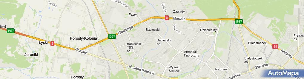 Zdjęcie satelitarne Usługi Remontowo Budowlane