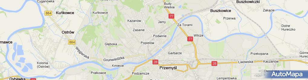Zdjęcie satelitarne Waldemar Łukasiewicz FHU Kopałka