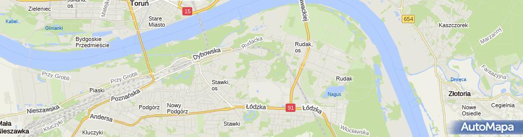 Zdjęcie satelitarne Waldemar Szocik - Działalność Gospodarcza