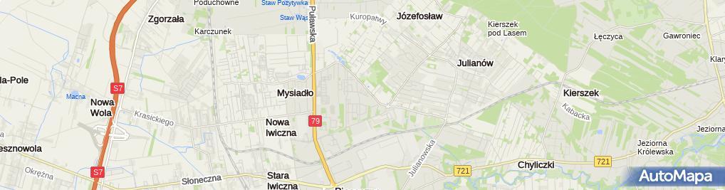 Zdjęcie satelitarne Waterman Jerzy Pawelec Usługi Instalacyjne i Budowlane