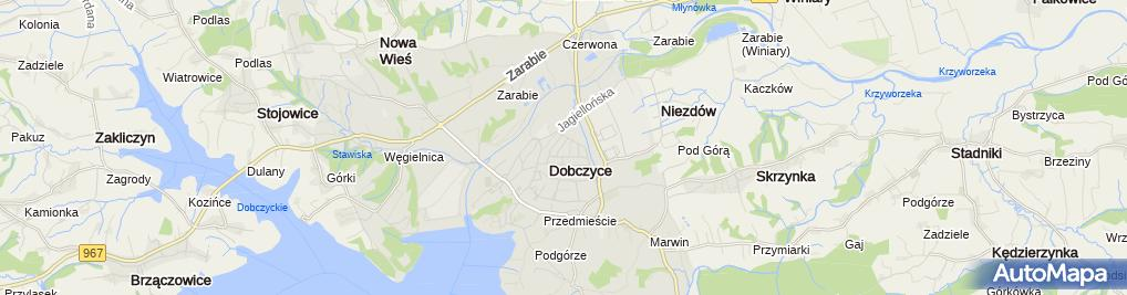 Zdjęcie satelitarne Wiesław Kapłoniak - Działalność Gospodarcza