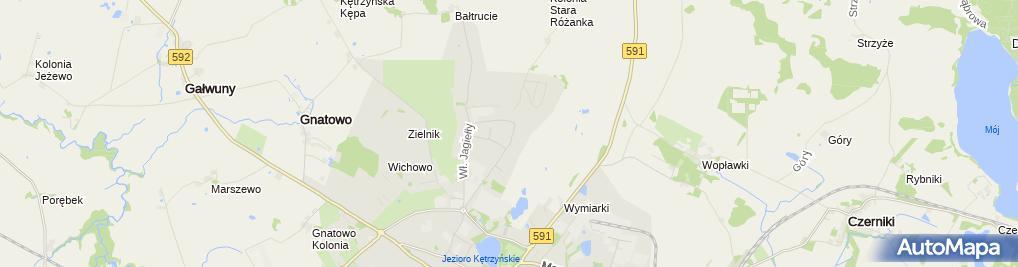 Zdjęcie satelitarne Witold Krzysztof Trynka Piękne Wnętrza Remonty Adaptacje Kominki