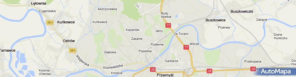 Zdjęcie satelitarne Witold Owsiany Zakład Remontowo-Budowlany