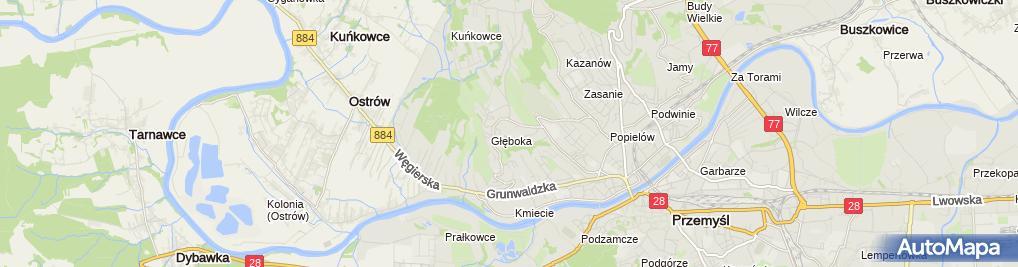Zdjęcie satelitarne Zakład Budowlany Remontowy Anmar Mariusz Tkacz Andrzej Bachurski