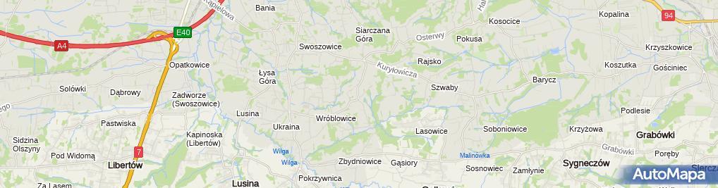 Zdjęcie satelitarne Zakład Usług Elektronicznych