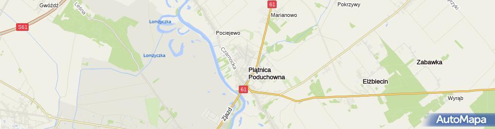 Zdjęcie satelitarne Zakład Usługowo Handlowy Elektryk Sebastian Żebrowski