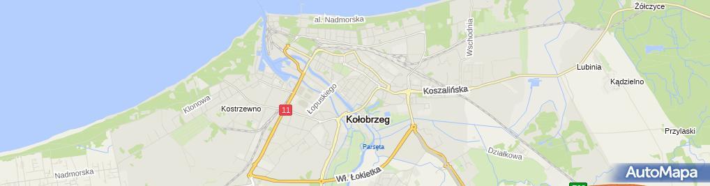 Zdjęcie satelitarne Zakład Usługowy Naprawa Sprzętu RTV