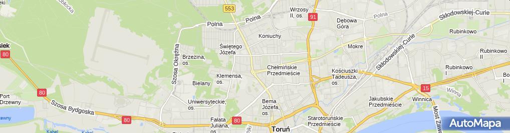 Zdjęcie satelitarne Zakład Usługowy Ortikon