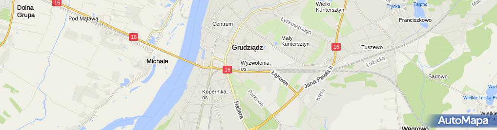 Zdjęcie satelitarne Zakład Zduński Mistrz