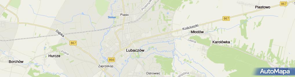 Zdjęcie satelitarne Zdzisław Szyk Usługi Dekarskie Dach Szyk