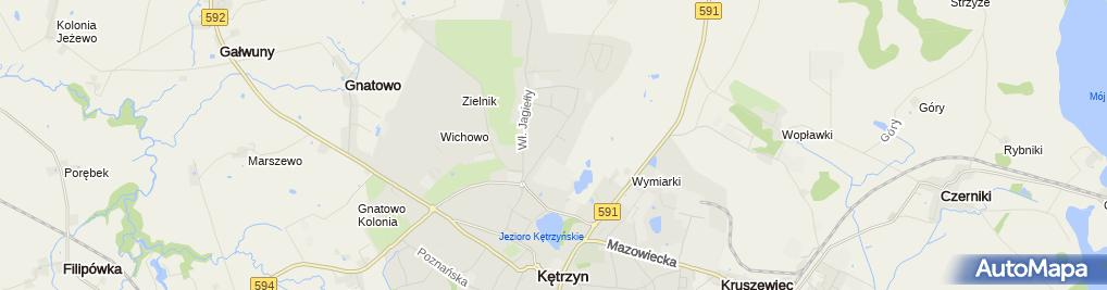Zdjęcie satelitarne Zenon Gerasimuk Usługi Elektryczne