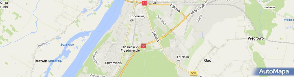 Zdjęcie satelitarne Carrefour - Hipermarket