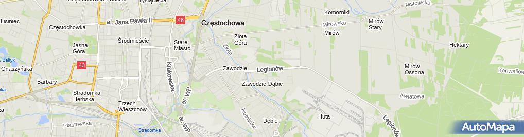 Zdjęcie satelitarne Sklep i Serwis CB Radio