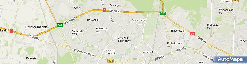 Zdjęcie satelitarne Cefarm - Apteka