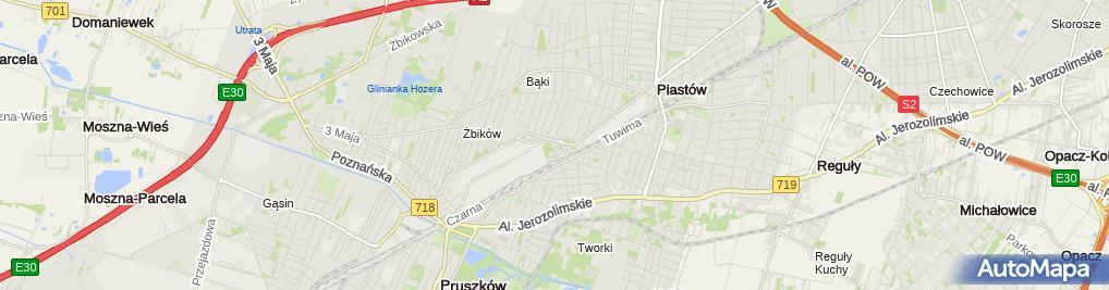 Zdjęcie satelitarne Styl Pracownia Tapicerska
