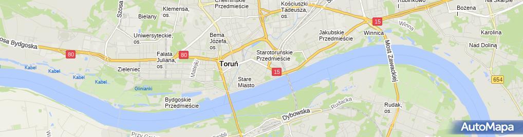 Zdjęcie satelitarne Wojewódzki Ośrodek Animacji Kultury