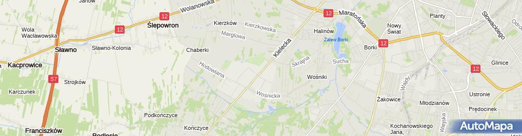 Zdjęcie satelitarne Pawłowski