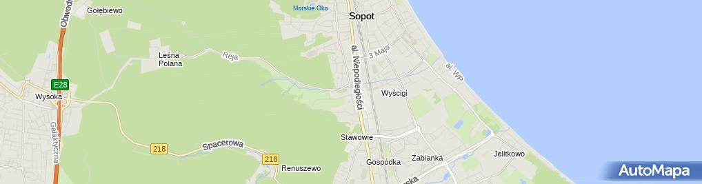 Zdjęcie satelitarne Bacar