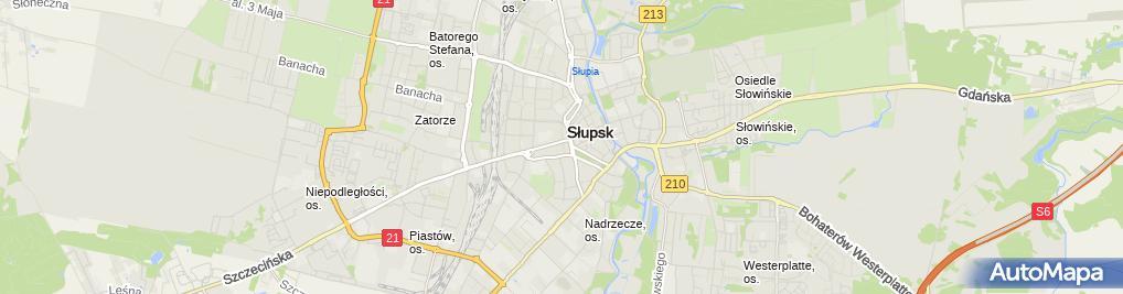 Zdjęcie satelitarne Ratusz Miejski