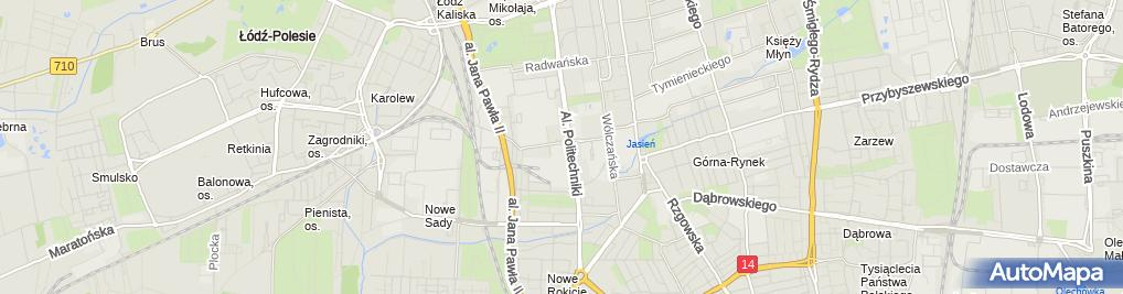 Zdjęcie satelitarne Elektrociepłownia nr 2