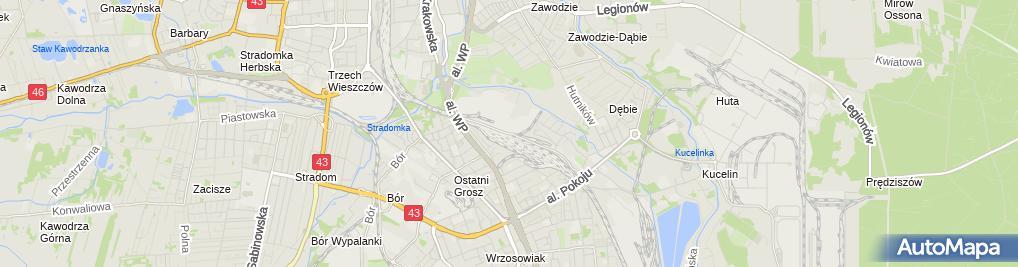 Zdjęcie satelitarne Fortum Heat Polska