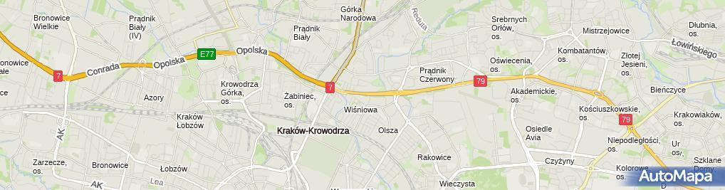 Zdjęcie satelitarne Circle K - Stacja paliw