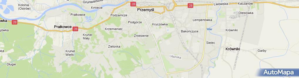 Zdjęcie satelitarne Komunalny Główny