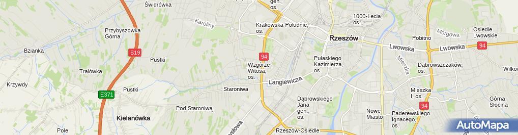 Zdjęcie satelitarne Staroniwa