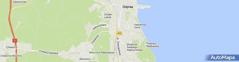 Zdjęcie satelitarne CUK - Ubezpieczenia