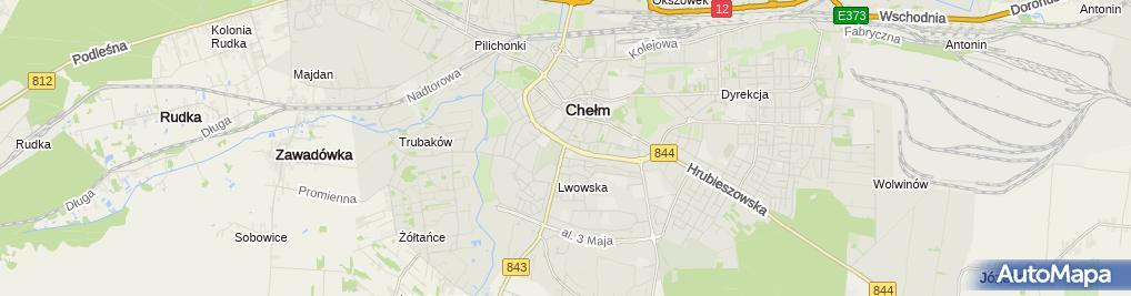 Zdjęcie satelitarne Cukiernia Grela